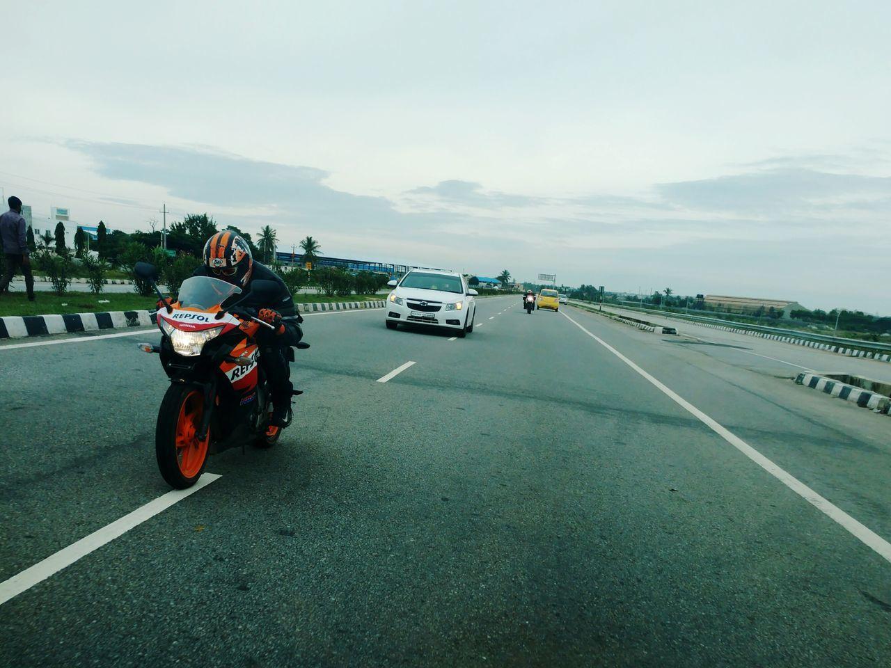 Showcase: November MotoXStyle Ride Friends Kolar Repsol Hondacbr250r Cheverlet Cruze First Eyeem Photo