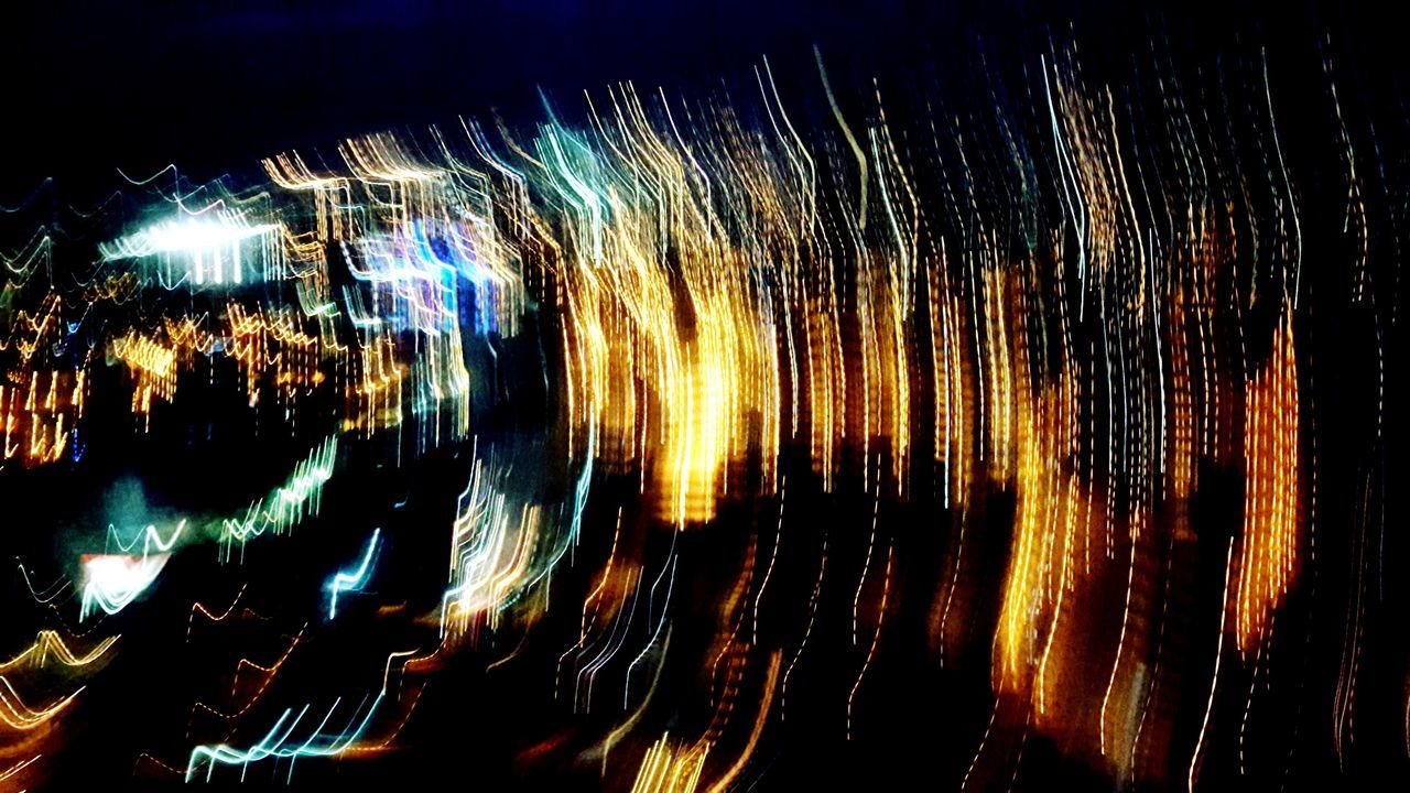 ripple Abstract Noise ISO Night