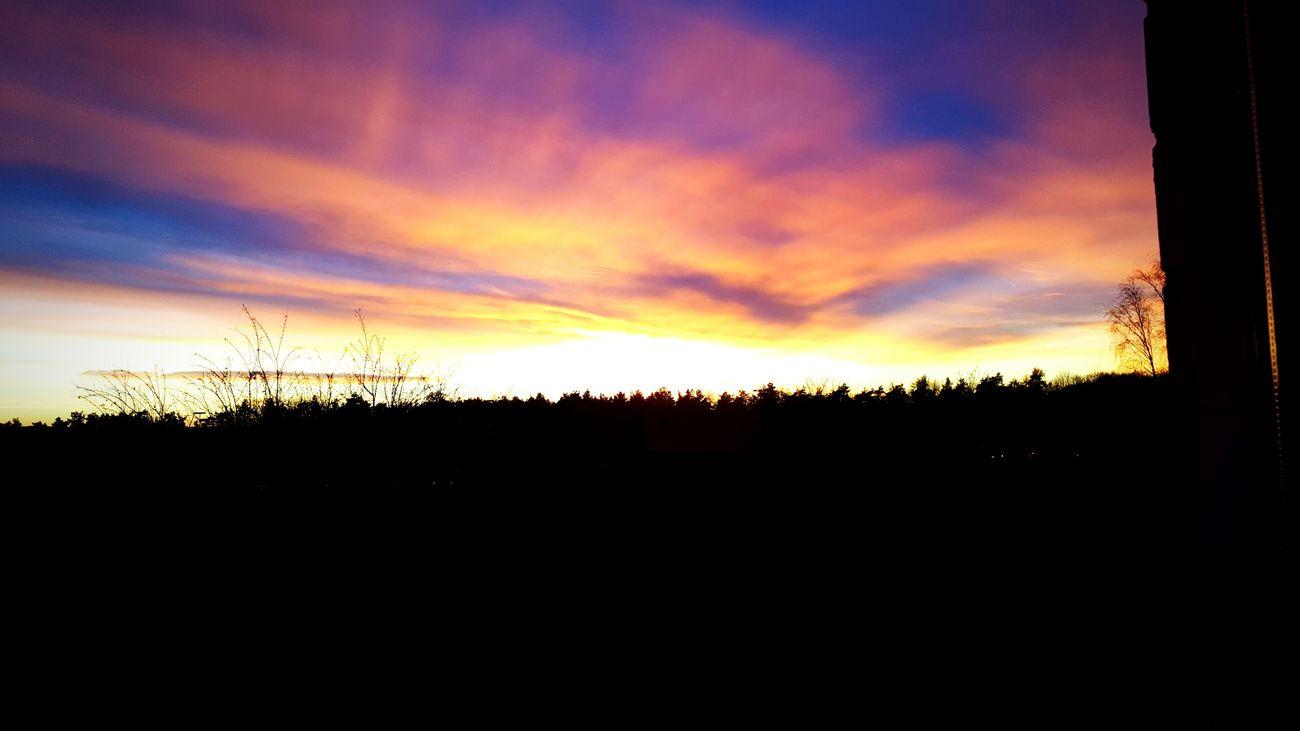 *-* Sonnenuntergang Himmel Sky Sunset Nice Day Nature Natur Schönes Wetter