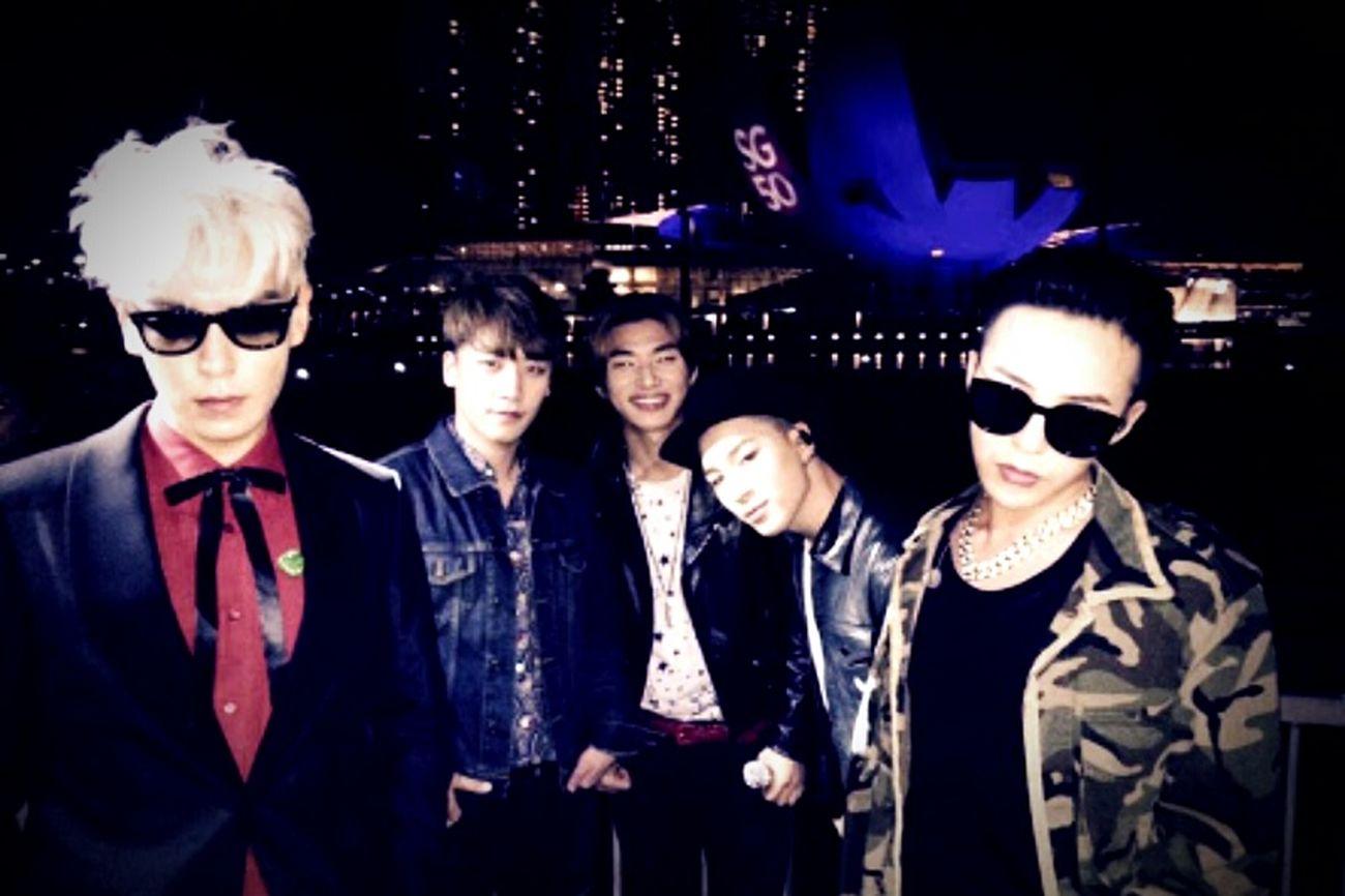 Bigbang Bigbangmadetourinmanila Top GD Taeyang Seungri Daesung 사랑해요♥