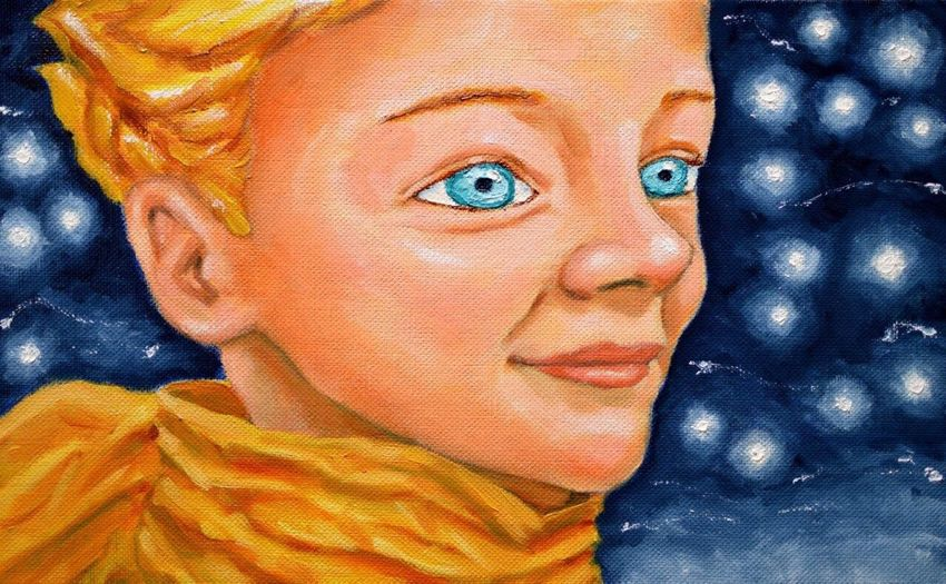 Little Prince Le Petit Paris Painting My Painting 星の王子様