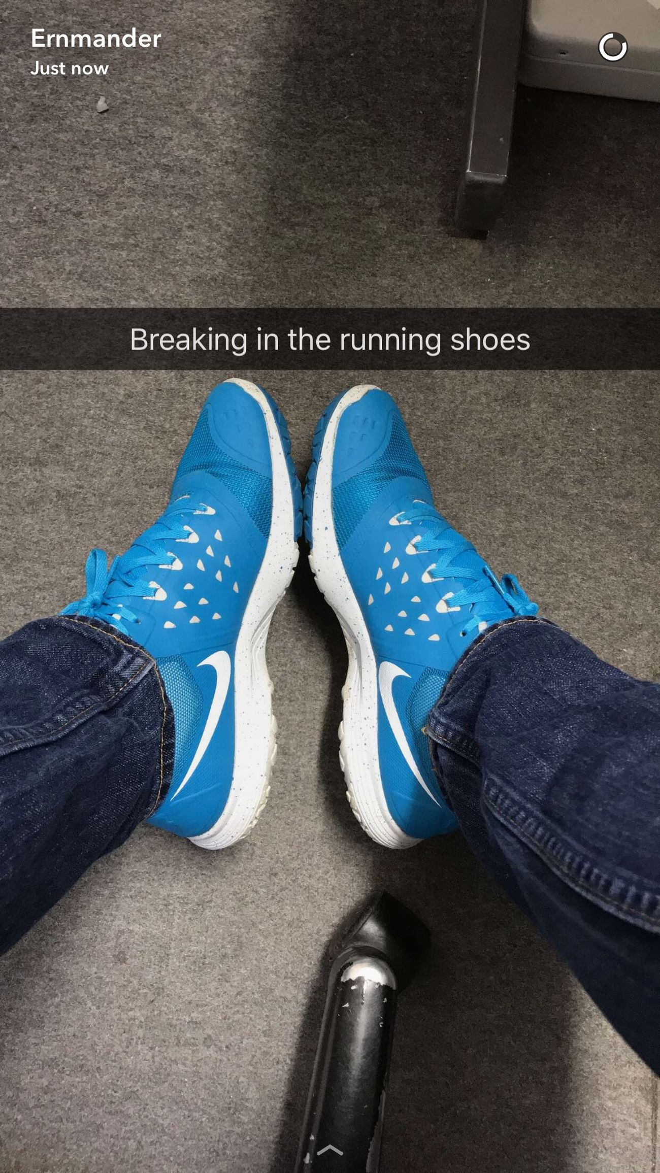 Today's @snapchat Snapchat Snapchatstory includes Nike and breaking in :)