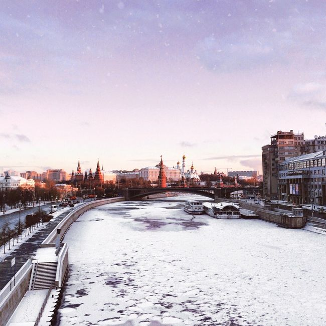 Snow Architecture City Winter Architecture Streetphotography Russia Taking Photos River