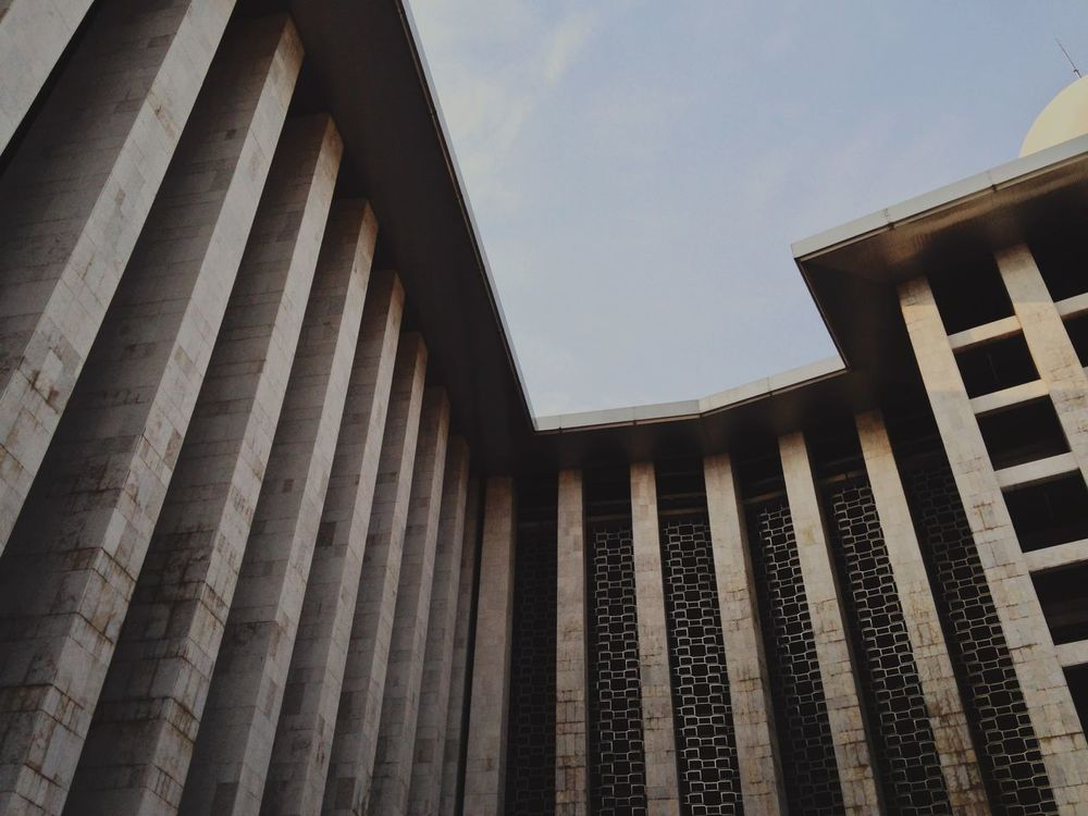 Istiqlal Mosque Amazing Architecture INDONESIA EyeEm Indonesia Architecture Wonderful Indonesia This Is Indonesia Discover Indonesia Travelling The Architect - 2016 EyeEm Awards TakeoverContrast