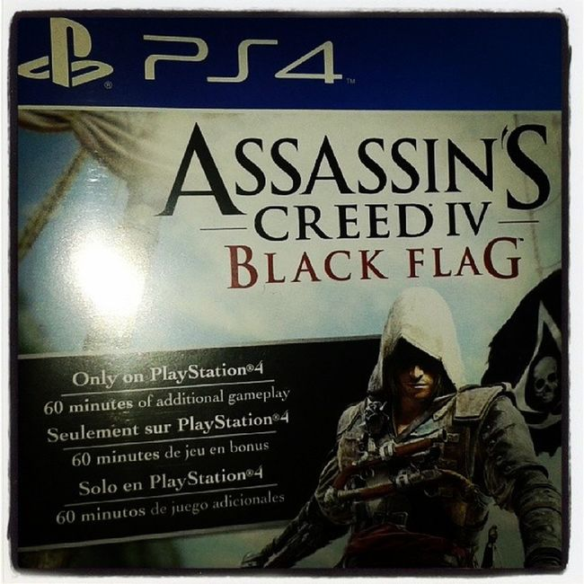 Para dominguear! PS4 AssasinscreedIV
