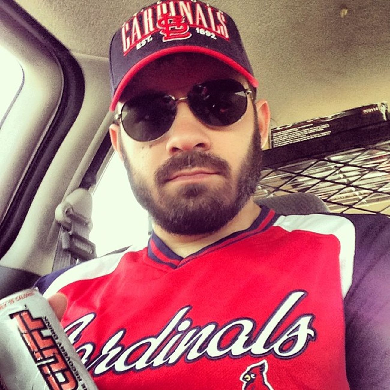 Guess who is going to the @cardinals opening day w/Thetasty ? Yep. This guy. @killcliff Stl