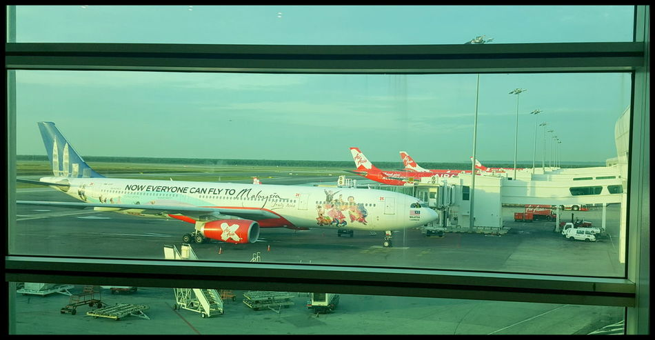 Air Vehicle Airasia Airplane Airport Airport Runway Anyone Can Fly Day Holidays Home Tiger Home Time! Outdoors Travel