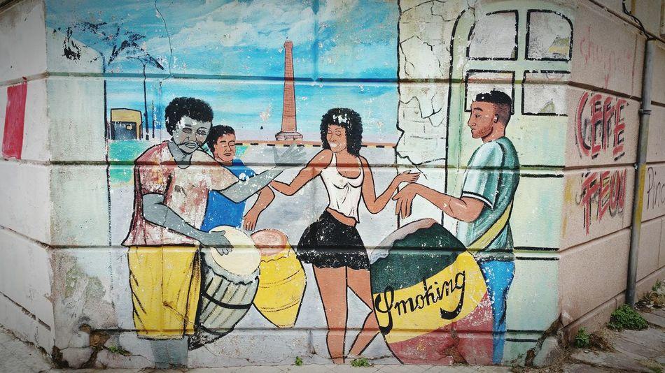Graffiti Street Photography Street Art/Graffiti Old City Rambla Del Mar