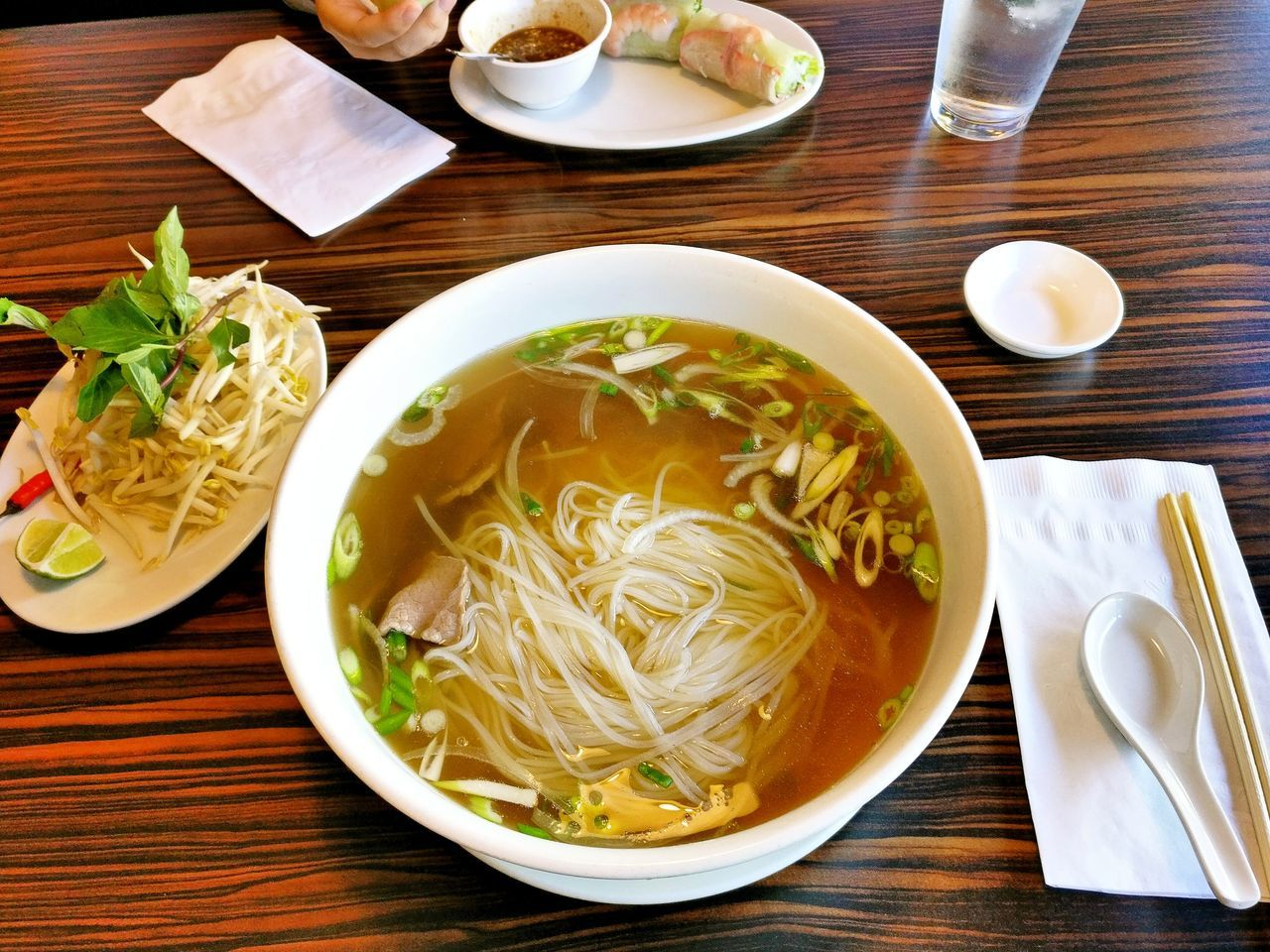 Pho-King huge bowl Ready-to-eat Freshness Food Food And Drink Healthy Eating High Angle View Bowl Serving Size Table Soup Plate No People Indoors  Close-up Day Burnsville Mn Photography Pho Vietnamese Cuisine Vietnamese Horizontal First Eyeem Photo