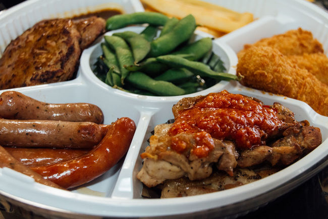 Choice Close-up Dinner Eat Enjoy Food Foodie French Fries Freshness Hamburg Steak Happy Time Meal Mealtime Party Time Plate Potato Ready-to-eat Rows Of Things Sausage Served Serving Size Show Us Your Takeaway! Still Life Taste Good Variation