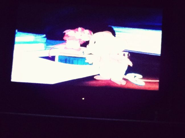 Can't sleep watching Tom and Jerry
