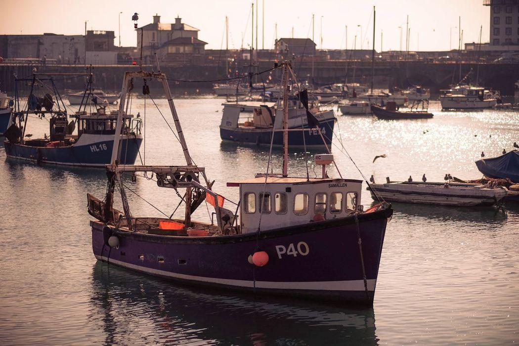 Fishing Boat Folkestone.. FUJIFILM X-T1 56mm Kent Folkestone Harbour