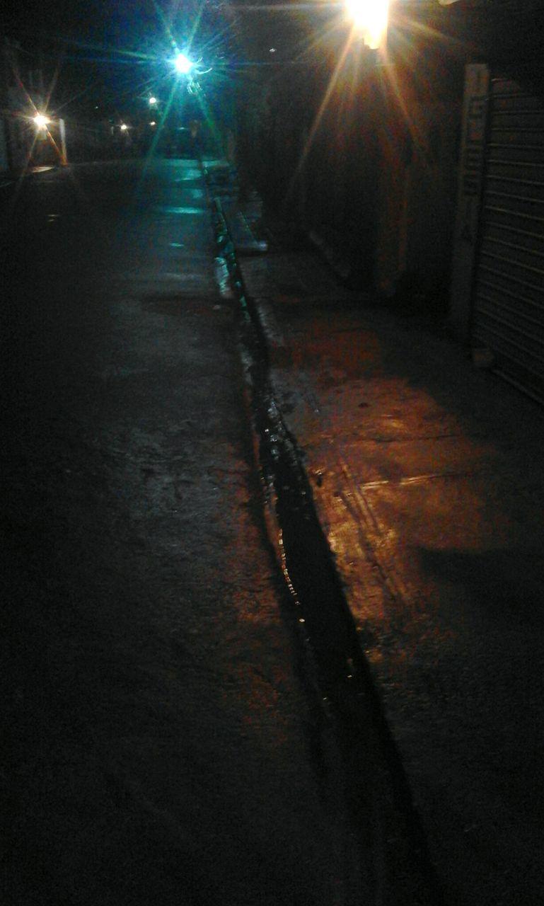 night, illuminated, light beam, no people, outdoors