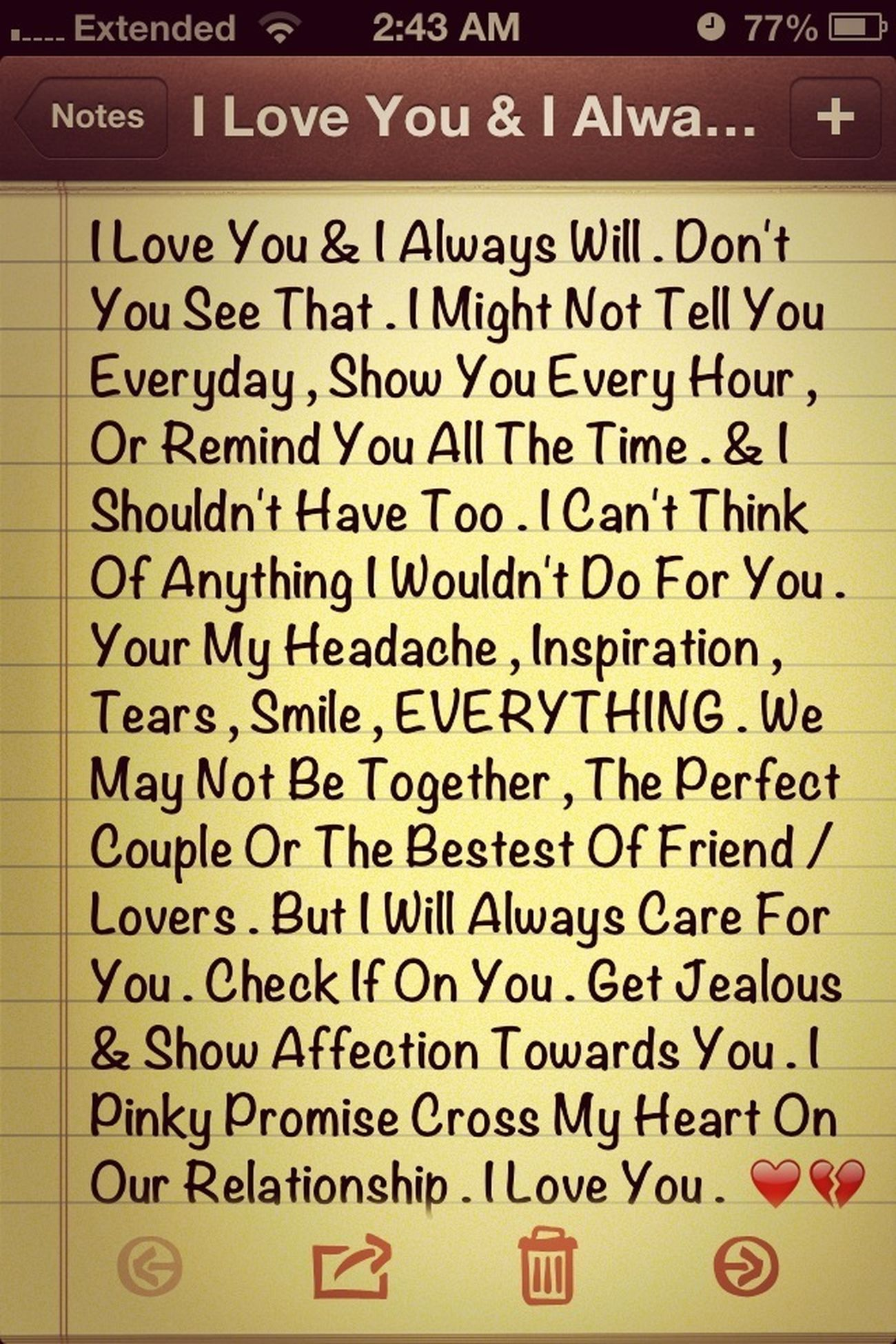 I Love You .. ❤