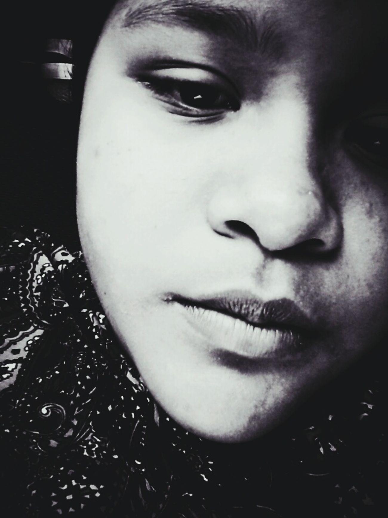 Lips Nose And Eyes Staringatme