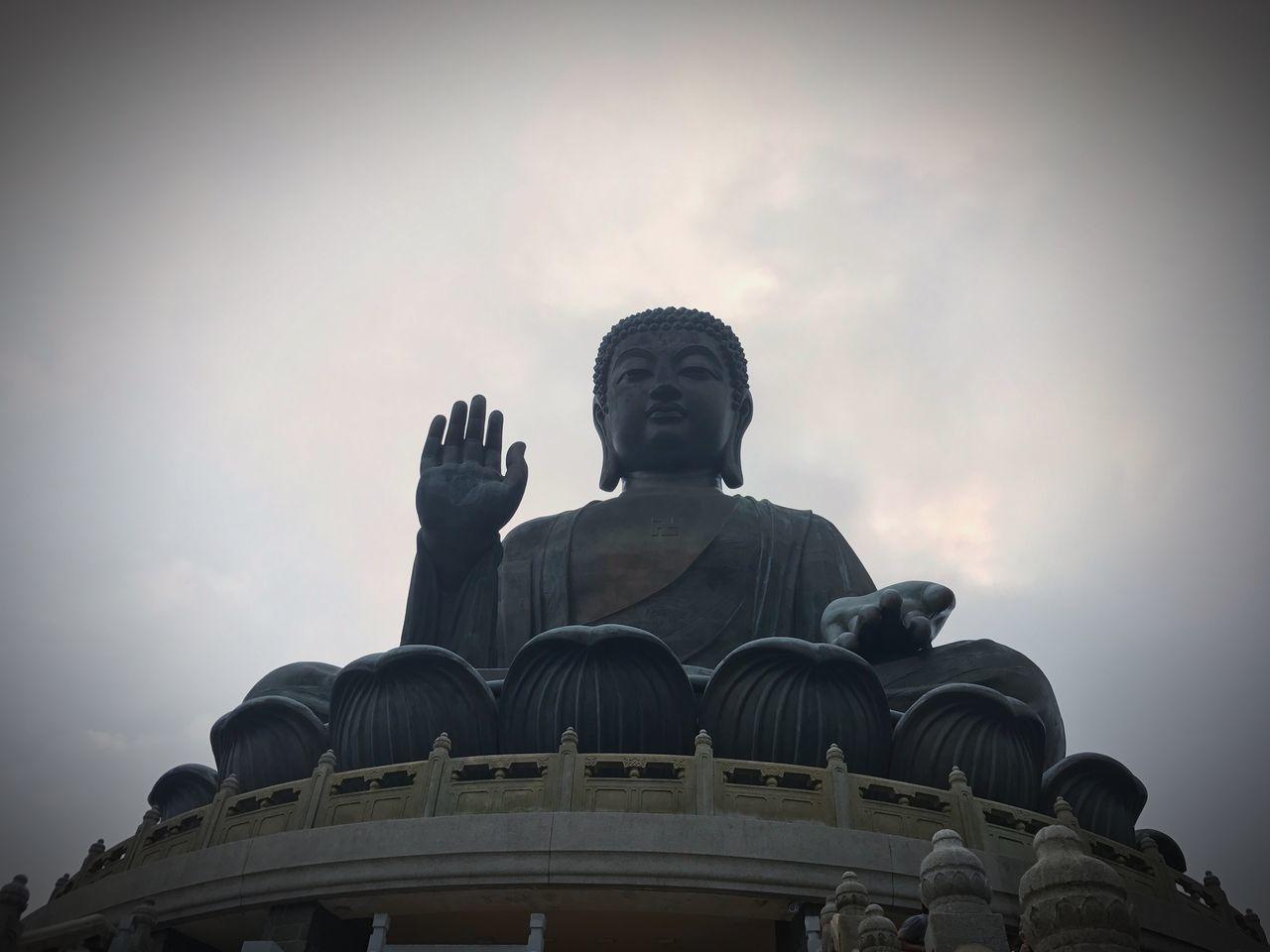 Buddha Buddha Statue Big Buddha Tian Tan Buddha (Giant Buddha) 天壇大佛 Travel