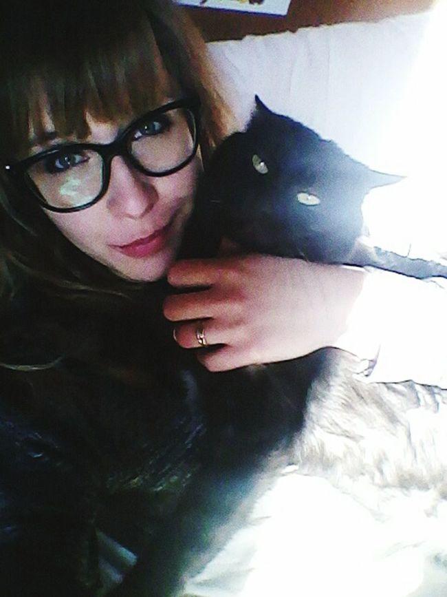 Cats 🐱 Black Lucky My Bijoux  Bijou Hello World Love Lovelovelove Peace And Tranquility Relax