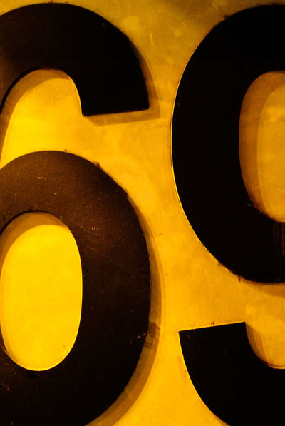 69th Backgrounds Black Color Circle Close-up Detail Full Frame Geometric Shape Illuminated No People Orange Color Part Of Yellow