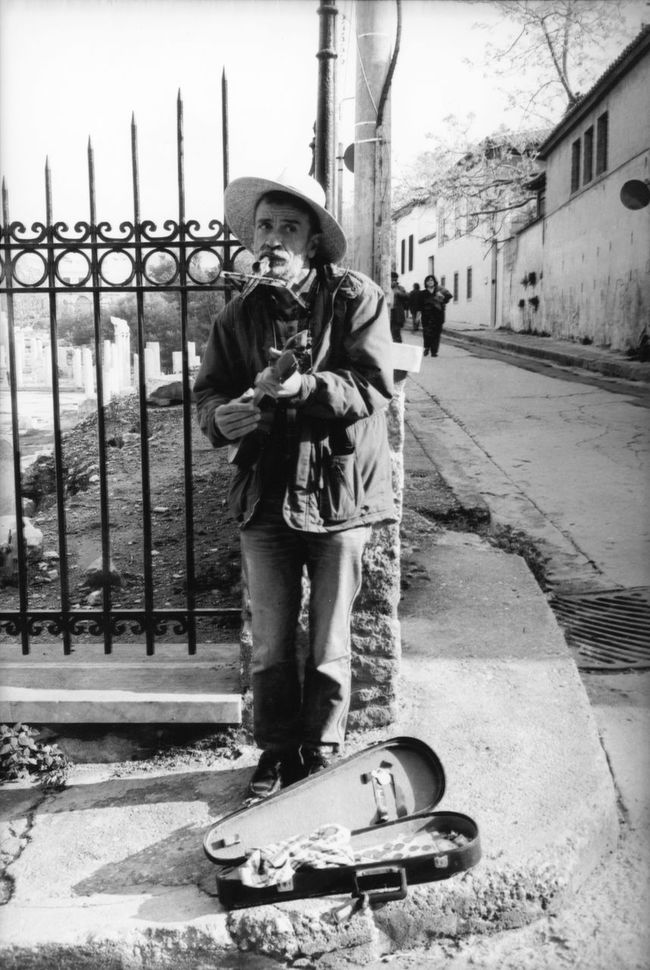 Baglamas Black And White Photography Blackandwhite Blackandwhite Photography Day Enjoyment Harmonica Lifestyles Music On The Street Musical Instruments Musician Old Musician Old Town Outdoors People Photography People Watching The Street Photographer - 2016 EyeEm Awards