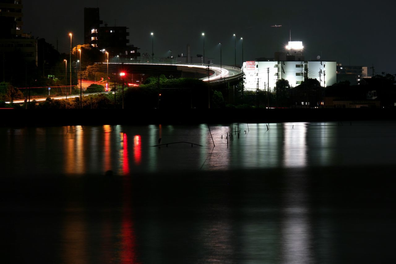 Reflection Night Illuminated Water Travel Destinations Celebration No People City Outdoors Sky Business Finance And Industry Bridge - Man Made Structure Architecture Cityscape The City Light