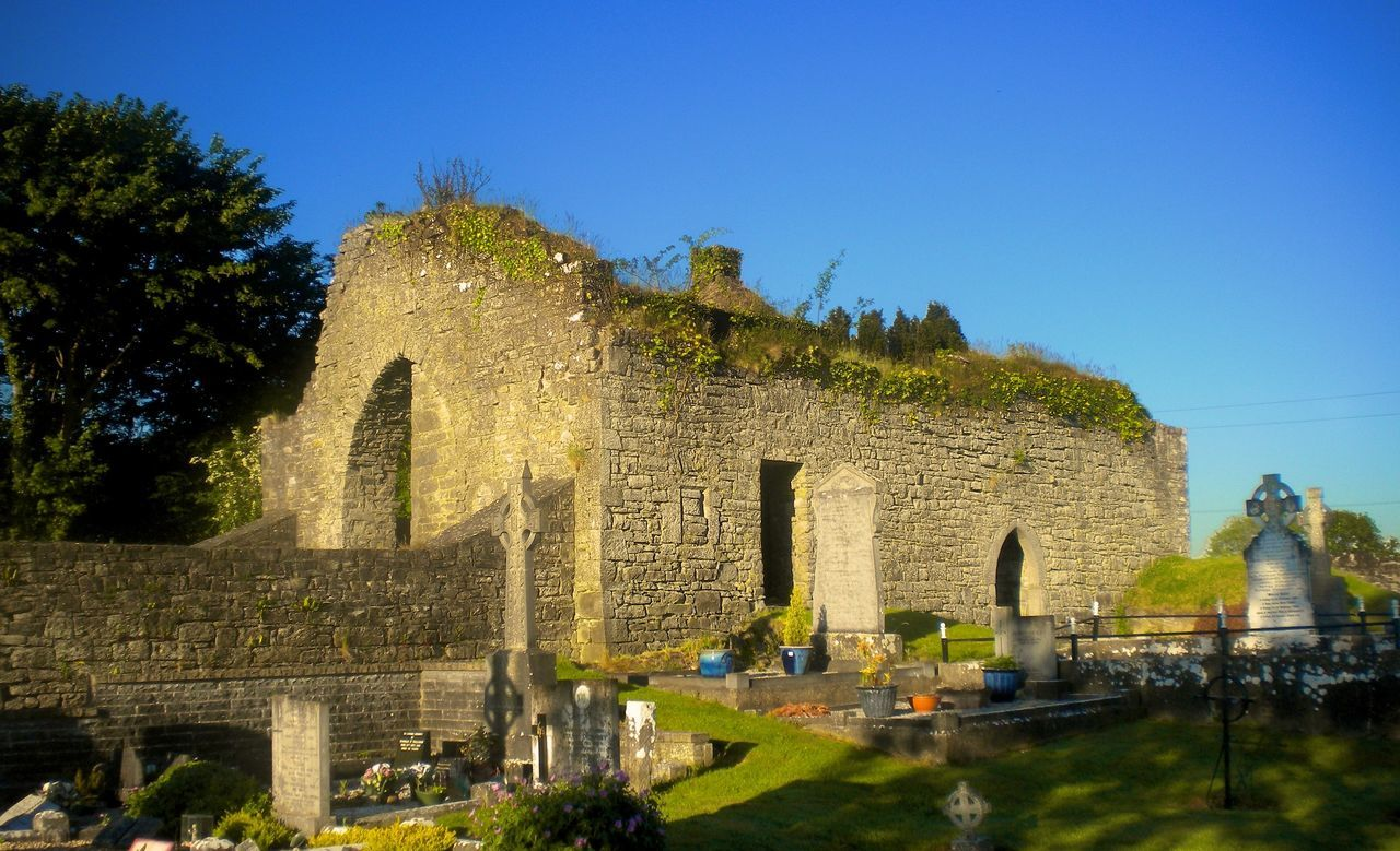 Beautiful stock photos of dublin, , Cemetery, Clear Sky, Day