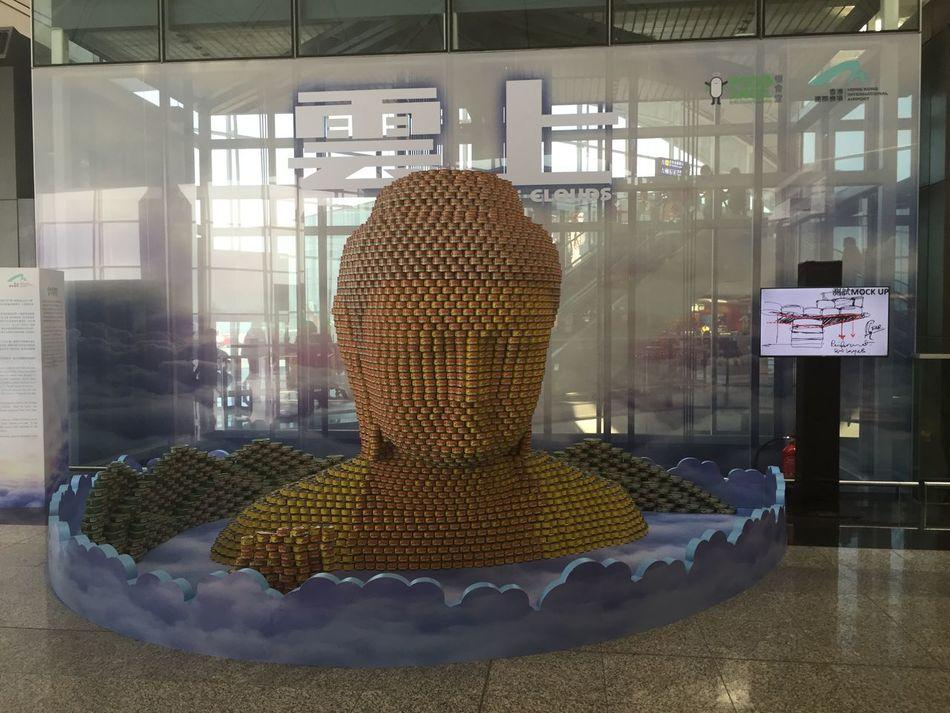 Abundance Arrangement ArtWork Buddha Statue Culture Cultures Hong Kong Hong Kong International Airport Indoors  Inspirational Sculpture Spiritual Uncommon  Seeing The Sights
