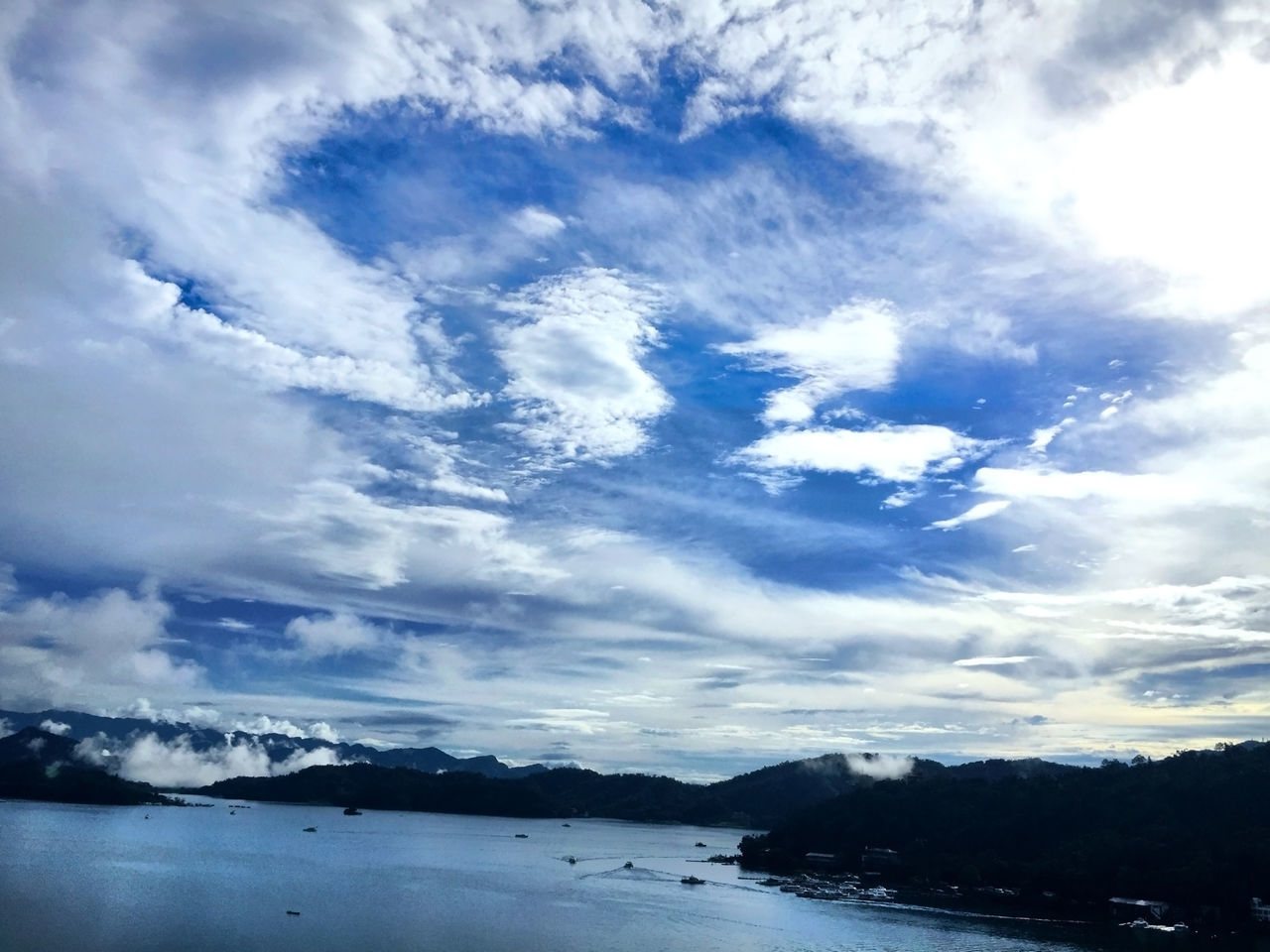 cloud - sky, sky, scenics, beauty in nature, tranquility, nature, water, no people, tranquil scene, sea, outdoors, mountain, day