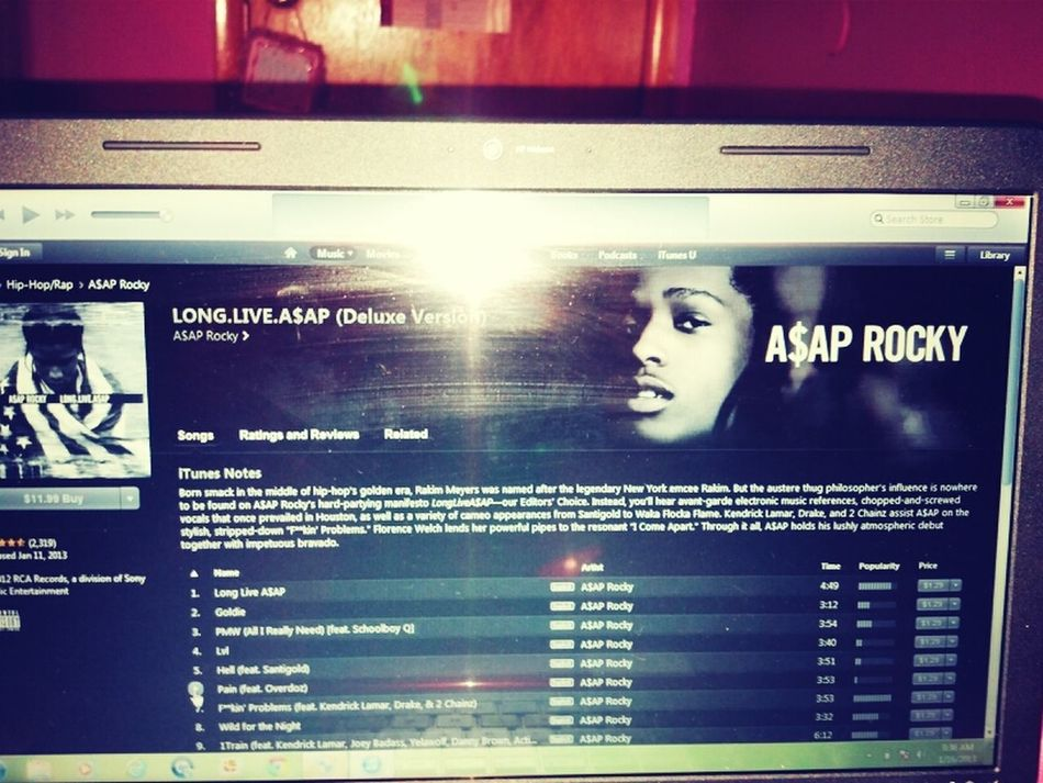 First Pic Had To Be A$AP!