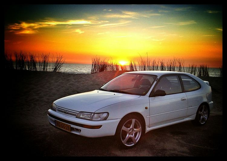 My precious.. . Taking Photos Check This Out Hello World Enjoying Life Holland Netherlands Dutch Netherlands ❤ View Landscape Scenery Photooftheday Picoftheday Follow4follow Beach Sunset Golden Hour Toyota Toyota Corolla Gtsi Car Auto Oz Racing Awesome