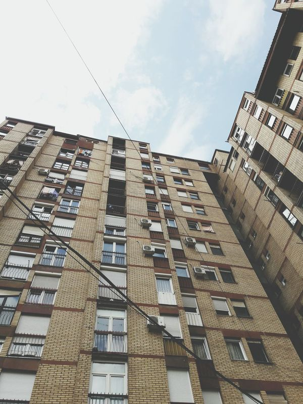 Building Exterior Built Structure Architecture Low Angle View Sky Day Travel Destinations No People Outdoors City Vscokosova VSCO Backgrounds Skyline Sky_collection Clear Sky Building Buildings