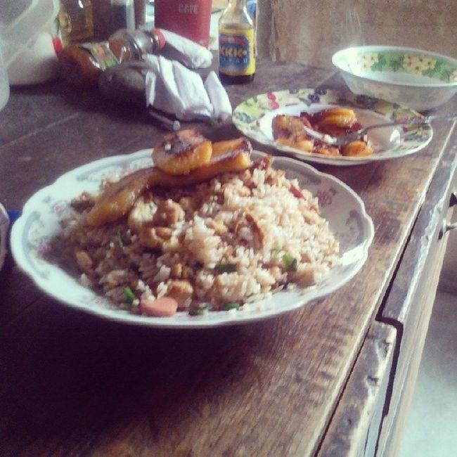 Después de una súper travesía, se pudo!! se logró!! El mejor almuerzo a lo peruano Chaufa Hambriento Cocinero Feliz