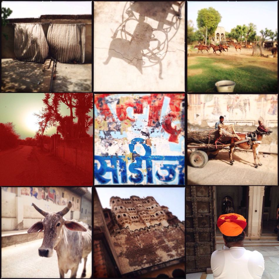 Indien 1 India Hipstamatic Diptic Collage
