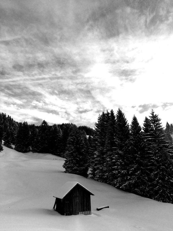 Blackandwhite Bwcountry Bregenzerwald