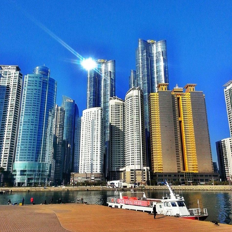 Marine_city Dongbaek_island Haeundae Busan 마린시티