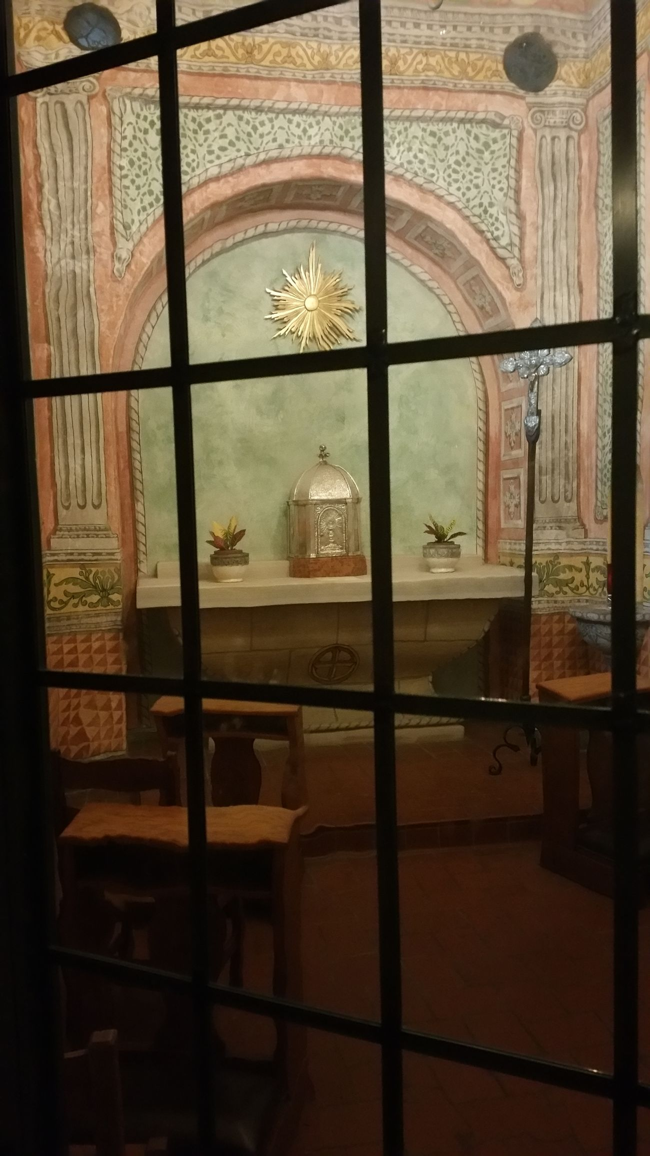 The Secret Spaces Architecture Window Place Of Worship No People Religion History Mission, Chapel, 1800's