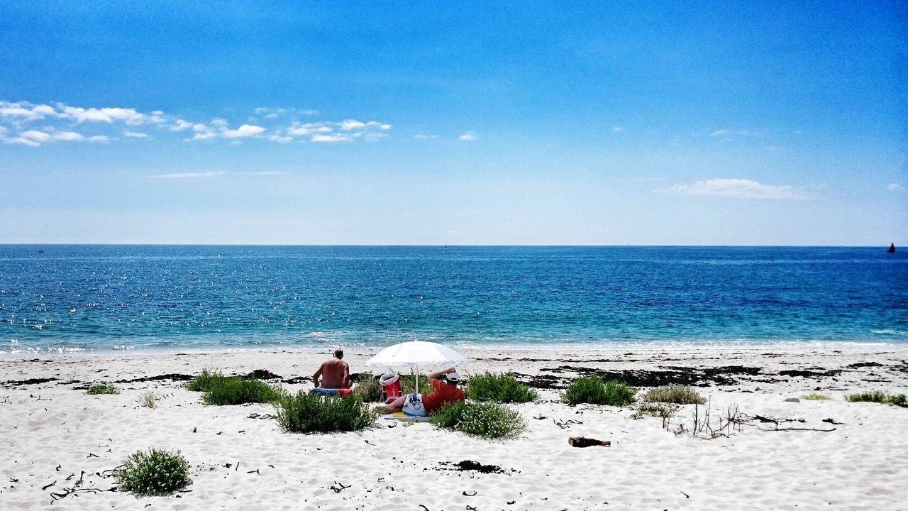 Beautiful stock photos of france, Beach, Beauty In Nature, Blue, Bonding