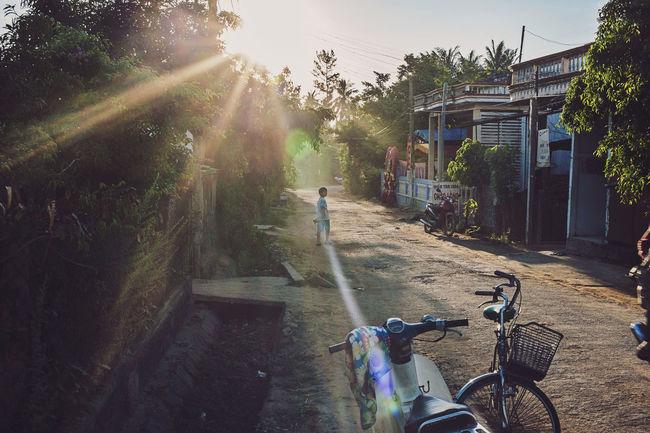 #islands #lifestyle #lyson Child Flare Landscape People Reallife Sea Sky Sunrise Sunset Vietnam