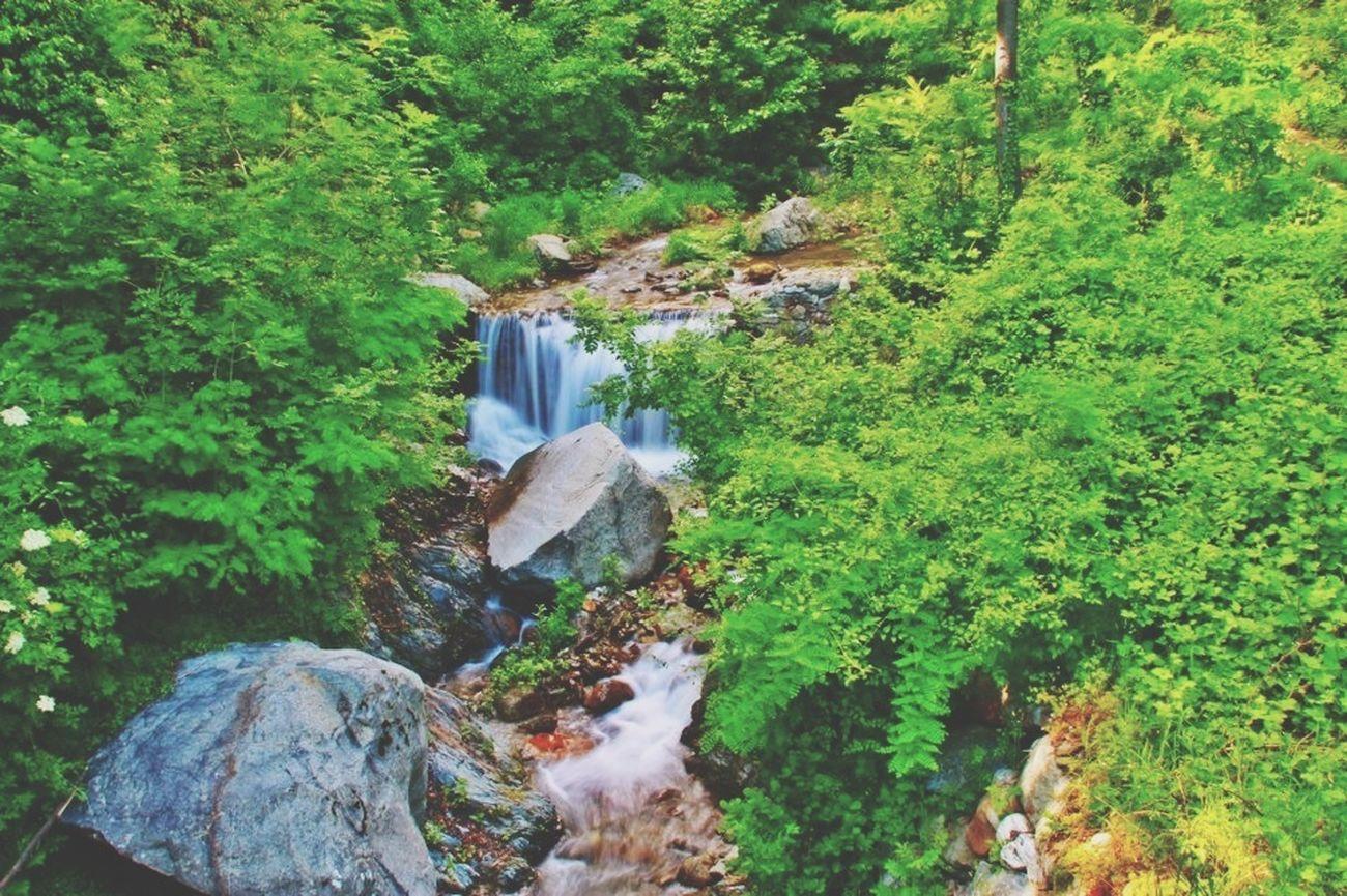 Water Waterfall Nature Long Exposure