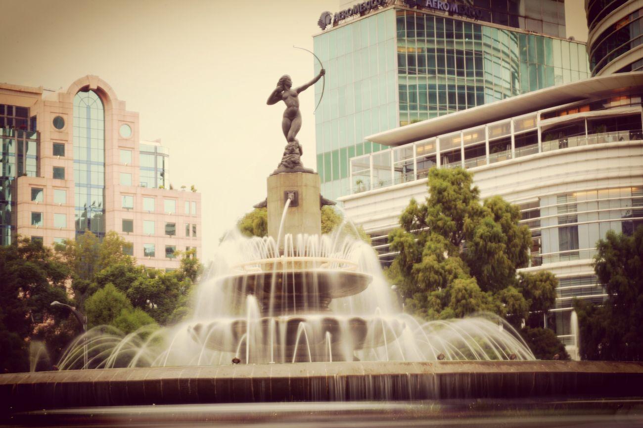 Mexicocity  DianaCazadora City Fountain Lovemexico Cdmx