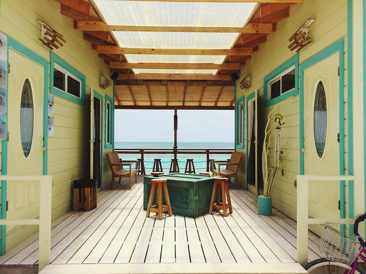 Caye Caulker Times Hanging Out Caye Caulker Belize  Belize It Travel Photography Cafe Time Relaxing