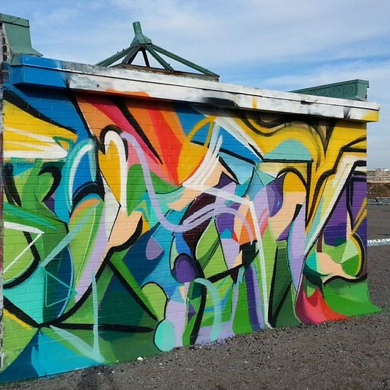 Mastrocola Spraypaint Abstract Colorlove colortherapy rooftop perfectday
