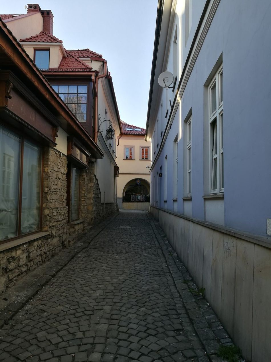 The Way Forward Sky Architecture Built Structure Building Exterior Outdoors No People Day City Historical Place Old Buildings Old Town Empty City Bielsko-Biała Poland