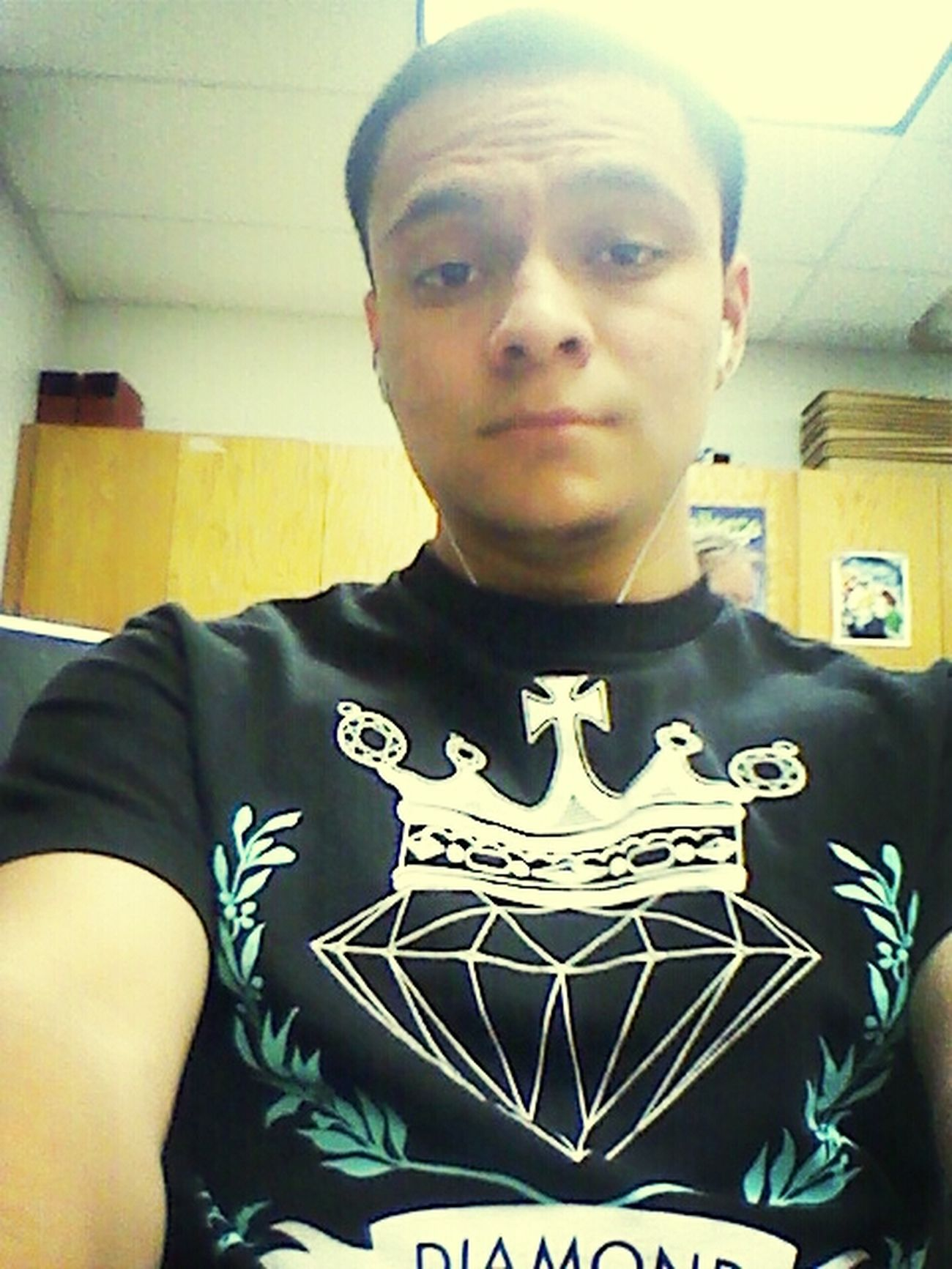 Just Chillin In Art Class, Jamming
