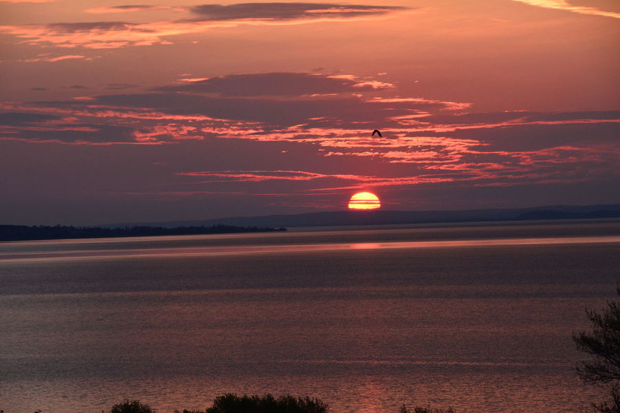 Landscape_Collection Orange Sky Clouds And Sky Lake Lakeside Sun Sunrice #sunrice #morning #lovely Sunrice #sunrice Morning Lovely [