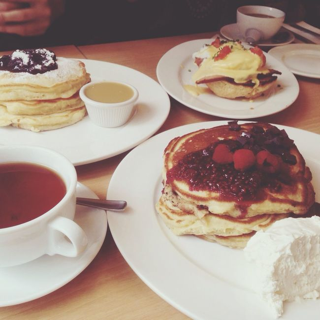 Breakfast Tokyo Eating Food