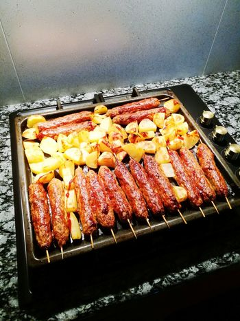 Food Freshness Meat Grilled Barbecue Healthy Eating Ready-to-eat Prepared Potato