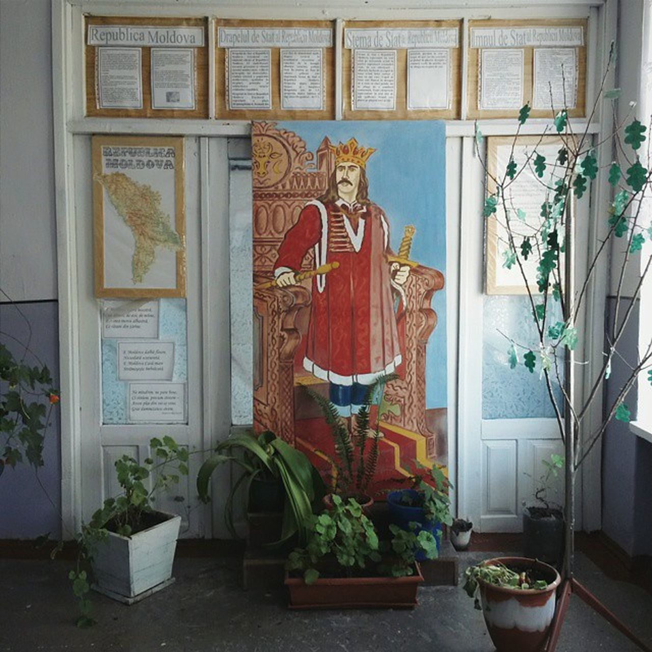 Inside school of Alcedar village Stefancelmare Moldova Rural Vscocam