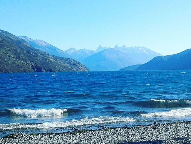 Lago Puelo Lake Nature Patagonia Photography Nature Photography Peace Blue Sky Quiet Moments
