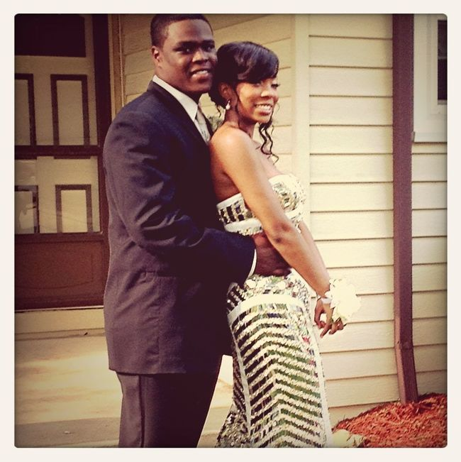 Me and my best friend before prom #throwback #imissprom