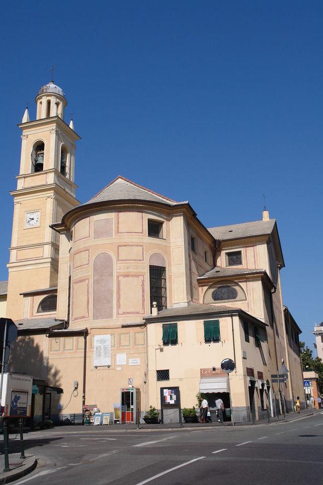 Albaro Architecture Chiesa Chiesa Di Albaro Church Cross Genova Outdoors